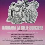 Affiche Barabara la belle sorcière