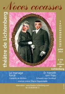 Noces cocasses l'affiche