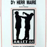 Affiche De Harr Maire