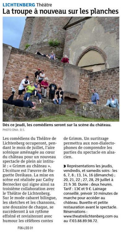 Grimm dans les DNA 05/07/2017